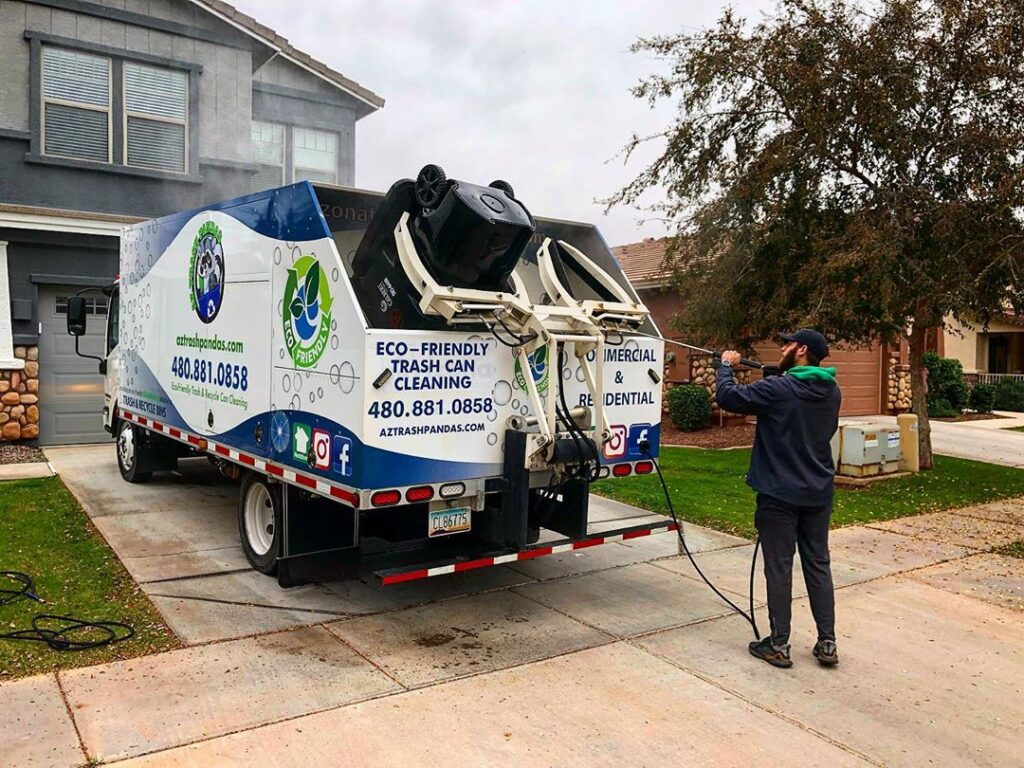 Garbage Can Cleaning Service in Phoenix